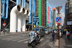 Centre Georges Pompidou Stock Photography