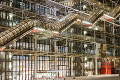 Centre Georges Pompidou Royalty Free Stock Photos