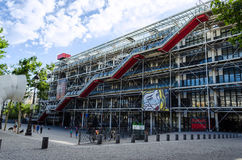 Centre Georges Pompidou - Paris, France Royalty Free Stock Photos