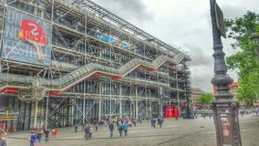 Centre Georges Pompidou, Paris, France Stock Image