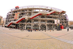 The Centre Georges Pompidou Stock Photo