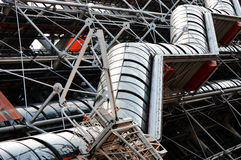 Centre Georges Pompidou in Paris Stock Photos