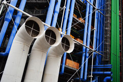 Centre Georges Pompidou in Paris Royalty Free Stock Images