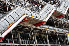 Centre Georges Pompidou in Paris Stock Photos
