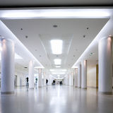 centre hall office white Стоковое Изображение RF