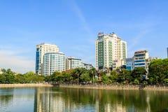 Centre Hanoï, Vietnam de Lotte Image stock