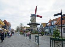Centre historique de la ville Sluis Photographie stock