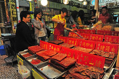 Centre historique de Macao Photographie stock
