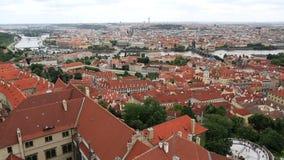 Centre historique de Prague banque de vidéos