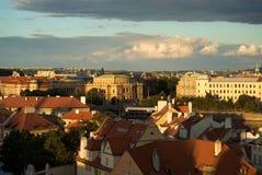 Centre historique de Prague Photo libre de droits