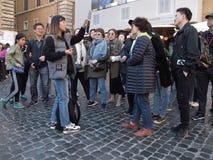 Centre historique de Rome photo stock