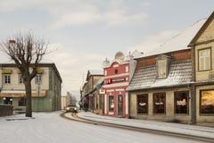 Centre historique de Tukums Photographie stock libre de droits