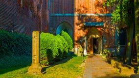 Centre historique du ` s de Cracovie - de la Pologne, une ville avec l'architecture antique images libres de droits