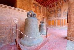 Centre historique du village médiéval de San Gimignano, Toscane Photos libres de droits