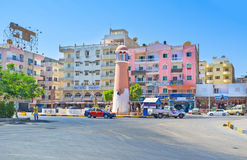 The centre of Hurgada Stock Images