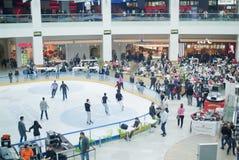Centre intérieur d'Afi - Roumanie Images stock
