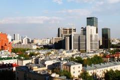 Centre international d'affaires de Moscou Images stock