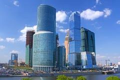 Centre international d'affaires de Moscou Photographie stock libre de droits
