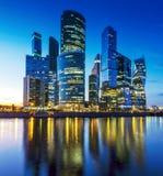 Centre international d'affaires de Moscou, Russie Photo stock