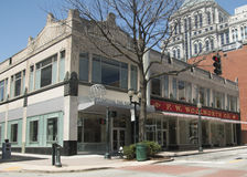 Centre international et musée de droits civiques à Greensboro, la Caroline du Nord Images libres de droits
