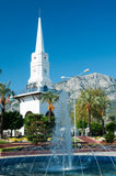 Centre of kemer city, turkey Stock Photos