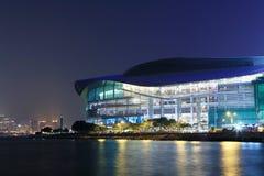 centre konwenci powystawowy Hong kong Fotografia Royalty Free