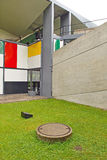 Centre Le Corbusier/Heidi Weber Museum Stock Photography