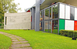 Centre Le Corbusier, Heidi Weber muzeum/ Zdjęcie Royalty Free
