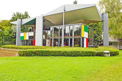 Centre Le Corbusier, Heidi Weber muzeum/ Zdjęcie Stock