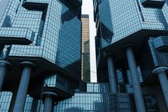centre lippo Projekt Australijskim architektem Paul Rudolph obrazy royalty free