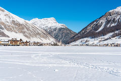 Centre of Livigno in Italy Royalty Free Stock Photography