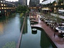 Centre Londres de barbacane photo libre de droits