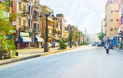 The centre of Luxor Royalty Free Stock Images