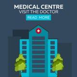 Centre médical Rendez visite au docteur Hôpital et soins de santé Photo libre de droits