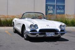 1962 Corvette convertible - Hamilton, Ontario, Canada royalty free stock images