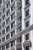 centre miasta Francisco hotel San Obrazy Royalty Free