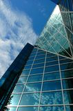 Centre moderne d'affaires image libre de droits