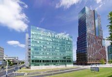 Centre moderne d'affaires Images libres de droits