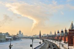 Centre of Moscow Stock Image