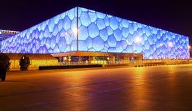 Centre national d'Aquatics (cube en eau) Photo stock