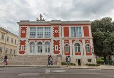 Centre national d'enseignement par correspondance dans Porec, Crioatia image stock