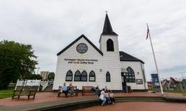 Centre norvégien d'arts d'église photographie stock