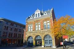 Centre o histoire de Montreal do ` de d, Canadá imagens de stock royalty free