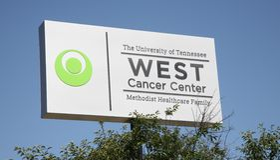 Centre occidental de Cancer, Memphis, TN Image libre de droits