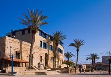 Centre of old Jaffa Royalty Free Stock Photography