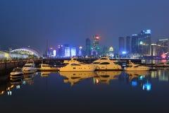 Centre olympique de navigation de Qingdao Image stock