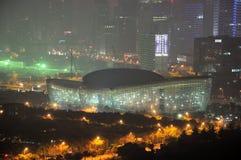 Centre oriental d'art de Changhaï Image libre de droits