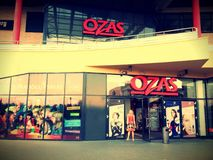 Centre Ozas de boutique Photographie stock