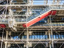Centre Pompidou detail Royalty Free Stock Photography