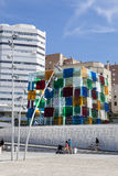 Centre Pompidou Malaga Obrazy Stock